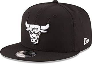 New Era NBA Chicago Bulls Men's 9Fifty Snapback Cap, One Size, Black