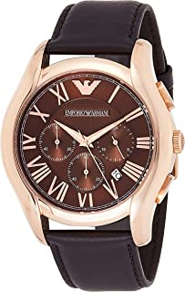 Emporio Armani Men's Dress Leather Watch