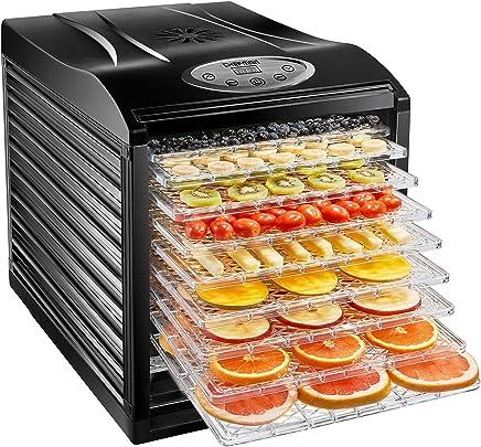 Chefman 9-Tray Food Dehydrator Machine Professional Electric Multi-Tier Food Preserver, Dried...