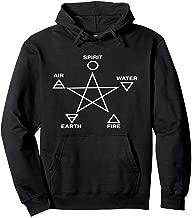 Five Elements Pentagram Hoodie Wicca Paganism Pagan Occult