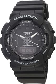 Casio Black 49mm Resin G-Shock Unisex Watch GMAS130-1A