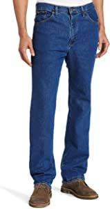 Lee Herren Regular Fit Stretch Straight Leg Jeans