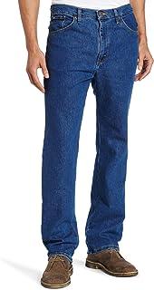 Lee Men's Regular Fit Straight Leg Jean, Pepper Wash Stretch, 33W x 30L