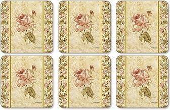 Pimpernel 10 5 Linen Coasters Antique
