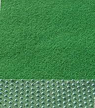verschiedene Gr/ö/ßen wasserdurchl/ässig 100x200 cm Rasenteppich Kunstrasen Standard gr/ün Velours Weich Meterware mit Drainage-Noppen