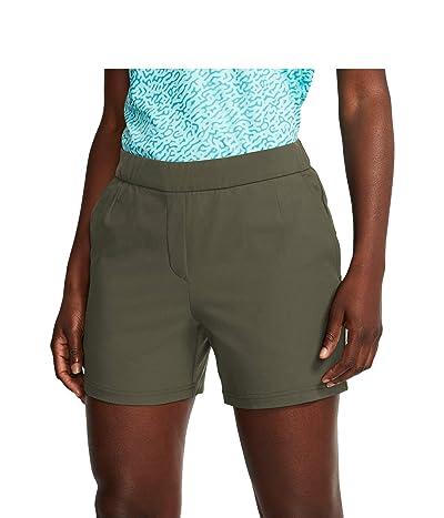 Nike Golf 5 Flex Victory Shorts (Medium Olive/Medium Olive) Women
