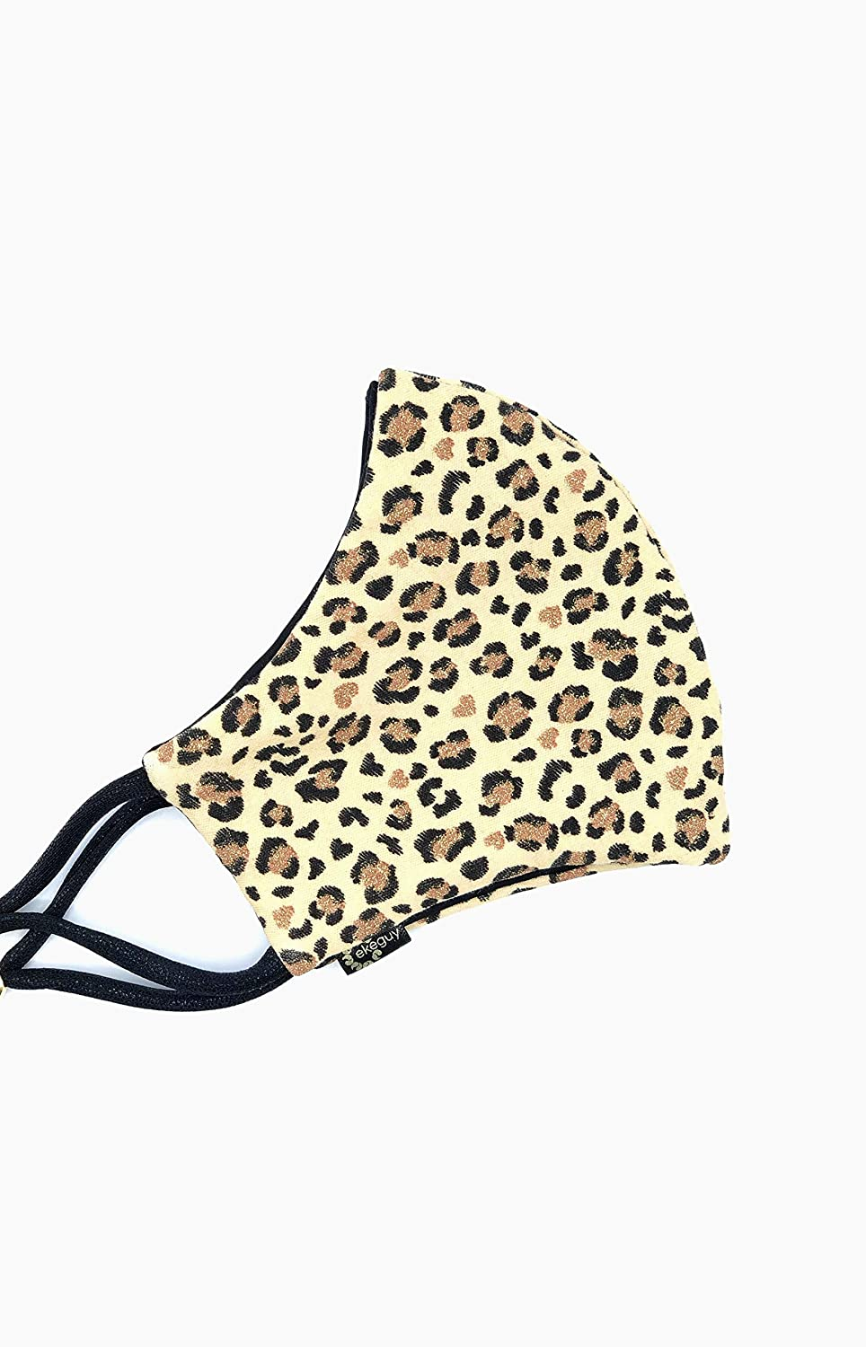 Leopard Print Raleigh Mall - New popularity Face Mask Soft Seamles Animal Facemask