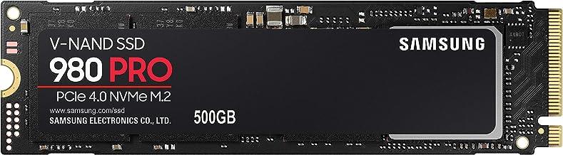 SAMSUNG 980 PRO SSD 500GB - PCIe 4.0 NVMe SSD Single Unit...
