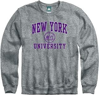 Crewneck Sweatshirt, Cotton/Poly Blend, Legacy Logo Grey, NCAA Colleges and Universities