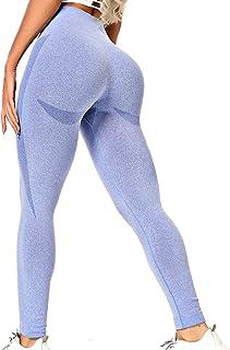 INSTINNCT Damen Scrunch Butt Leggings Booty Lifting Laufhose Sportstrumpfhosen Po Push Up Sport Tights Yoga Pants Fitnesshose Yogahose Jogging Running Workout Training Gym Fitness