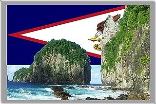 PAGO PAGO FRIDGE MAGNET, THE CAPITAL CITY OF AMERICAN SAMOA REFRIGERATOR MAGNET