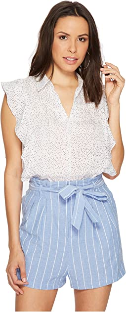 Bishop + Young - Chloe Print Ruffle Top