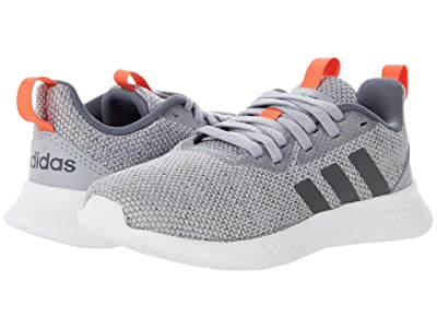 adidas Kids PUREMOTION (Little Kid/Big Kid) (Halo Silver/Grey/True Orange) Kid