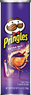 Pringles Extra Hot, 5.57 Ounce (Pack of 14)
