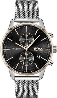 Hugo Boss Black Men's Black Dial Stainless Steel Watch - 1513805