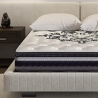 Signature Sleep Mattress, Full Size Mattress, Inspiration 10 Inch Hybrid Coil Mattress, Full