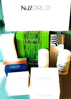 Nworld NLIGHTEN Complete Skin Care Set 9 pieces Total ONLY INCLUDES: Premium Soap (Pcs 2), Kojic Soap (Pcs 2), Bubble Cleanser (1), Facial Cleanser (1), Cloud Cream (1), Eye Gel (1), CC Cushion (1)