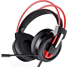 Zentouch Gaming Headset, Xbox One Headset with 7.1 Surround Sound & Noise Cancelling Over Ear Headphones with Mic, Stereo Headset for PS4 Xbox PC Nintendo Switch Cell Phone Laptop Tablet