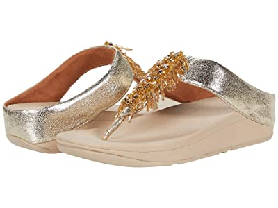 FitFlop Velma Adorn Toe-Thong (Gold) Women