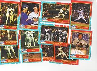 1987 Fleer Glossy 1986 World Series Baseball Card Set - New York Mets--Boston Red Sox