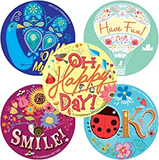 SmileMakers Oh Happy Day Stickers - Prizes 100 per Pack
