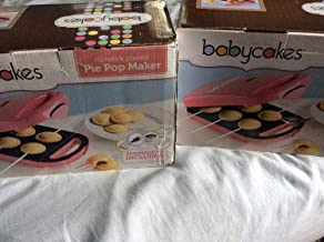 Pink Babycakes Pie Pop Maker that Makes 6 Pie Pops or Small Pies or Ravioli