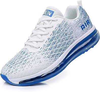 Azooken Scarpe Sportive Uomo Donna Scarpe da Corsa Cuscino Ad Aria Sneaker Tempo Libero Fitness Sneaker da Esterno Traspirante Leggera 36-47