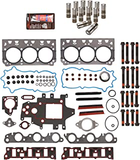 Evergreen HSHBLF8-10438S Lifter Replacement Kit Fits 96-05 Chevrolet Buick Pontiac GM Supercharged 3.8 Head Gasket Set, Head Bolts, Lifters