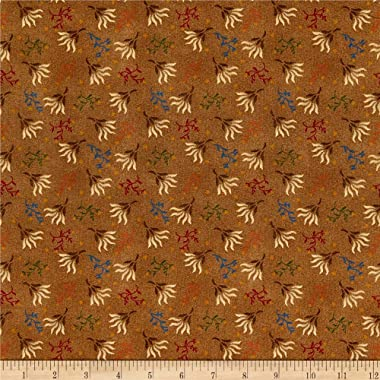Henry Glass & Co. Henry Glass Spiced 108'' Quilt Back Seaweed Brown, Fabric by the Yard