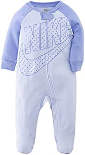 Baby Girls' Sportswear Graphic Footed Coverall