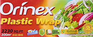 Orinex Plastic Wrap Jumbo Roll, 30cm, Clear