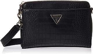 Guess Womens Cross-Body Handbag, Black - CG729114