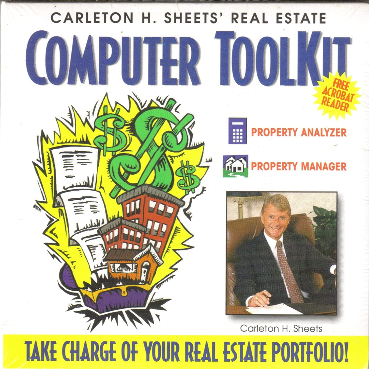Carleton H. Special sale item Sheets' Real Estate Computer Property Charlotte Mall Kit Anal Tool
