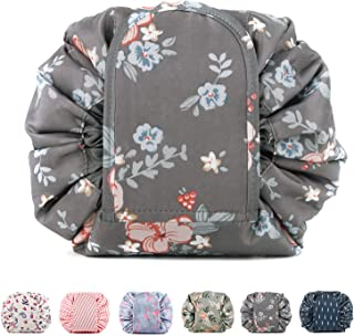 Portable Lazy Drawstring Makeup Bag Travel Cosmetic Bag