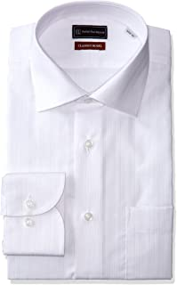 (ピーエスエフエー) P.S.FA クラシコモデル 形態安定 長袖 セミワイドカラーワイシャツ M151180069 01 ホワイト