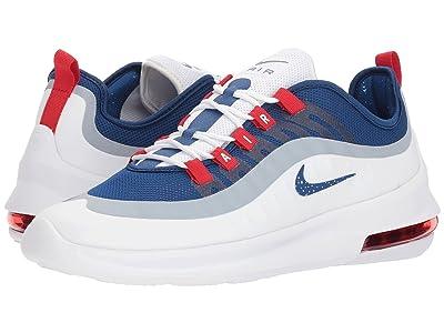 Nike Air Max Axis (White/Gym Blue/Gym Blue/University Red) Men
