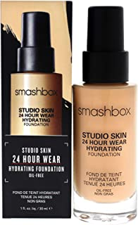 Smashbox Studio Skin 15 Hour Wear Hydrating Foundation ~ ~ w, 2.18 (light-medium with neutral undertone), 1 Fl Oz