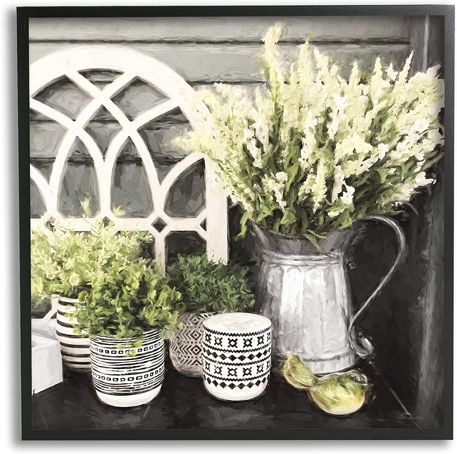 Stupell Industries Country Corner All items free shipping in Florals Challenge the lowest price Cottage Still-Life