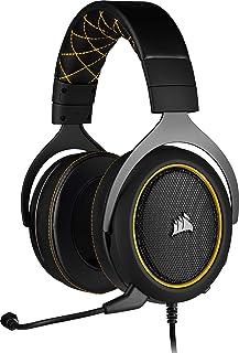 Corsair HS60 PRO Surround Auriculares para Juegos (7.1 Sonido envolvente, Espuma viscoelástica almohadillas, Unidirecciona...