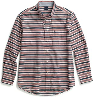 Tommy Hilfiger Men's Adaptive Magnetic Long Sleeve Button Down Shirt Classic Fit