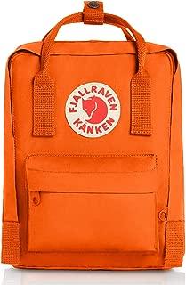 fjallraven orange backpack