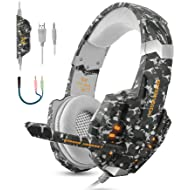 BGOOO Stereo Gaming Headset for PS4, PC, Xbox One,Professional 3.5mm Noise Isolation Over Ear...