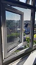 BASHI Window Screen Mesh voor kat, vliegeninsecten, muggenbescherming, gaas met magische tape, scheurvast venster veilighe...