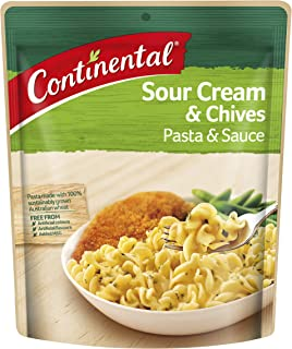 CONTINENTAL Pasta & Sauce (Side Dish)   Sour Cream & Chives, 85g