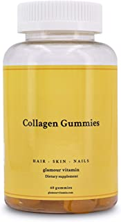Sponsored Ad - Collagen Gummies, Glamour Vitamins, Sweet Tropical Flavour Chewables, Easy to Ingest, Maintains and Promote...