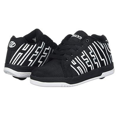 Heelys Split (Little Kid/Big Kid/Adult) (Black/White) Boys Shoes