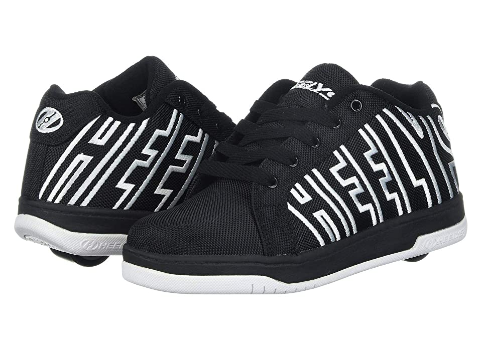 Heelys Split (Little Kid/Big Kid/Adult) (Black/White) Boys Shoes