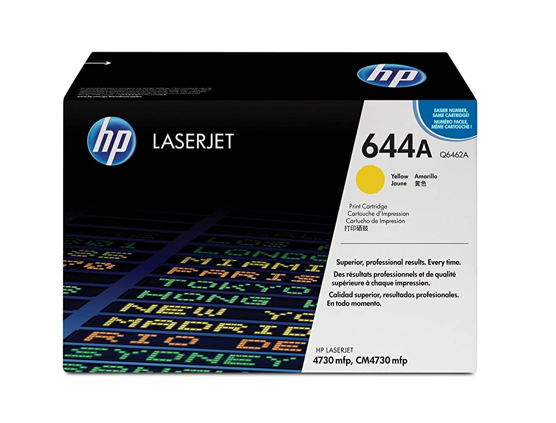 HP 644A (Q6462A) Yellow Toner Cartridge for HP Color LaserJet 4730
