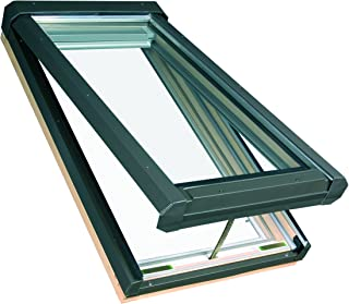 FAKRO FVE 807108 Electric Venting Skylight, Laminated Glass, FVE-306L (22-1/2 x 45-1/2 Inches)