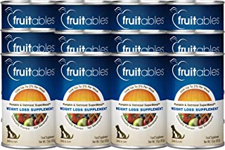 Fruitables Canned Pumpkin and Oatmeal Superblend Weight Loss Supplement